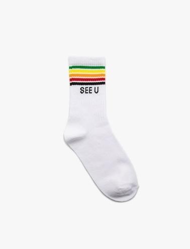 Koton Çorap Renkli